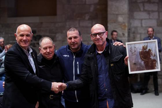 El hijo de Eulogio recogió también el Mérito Deportivo del APS.